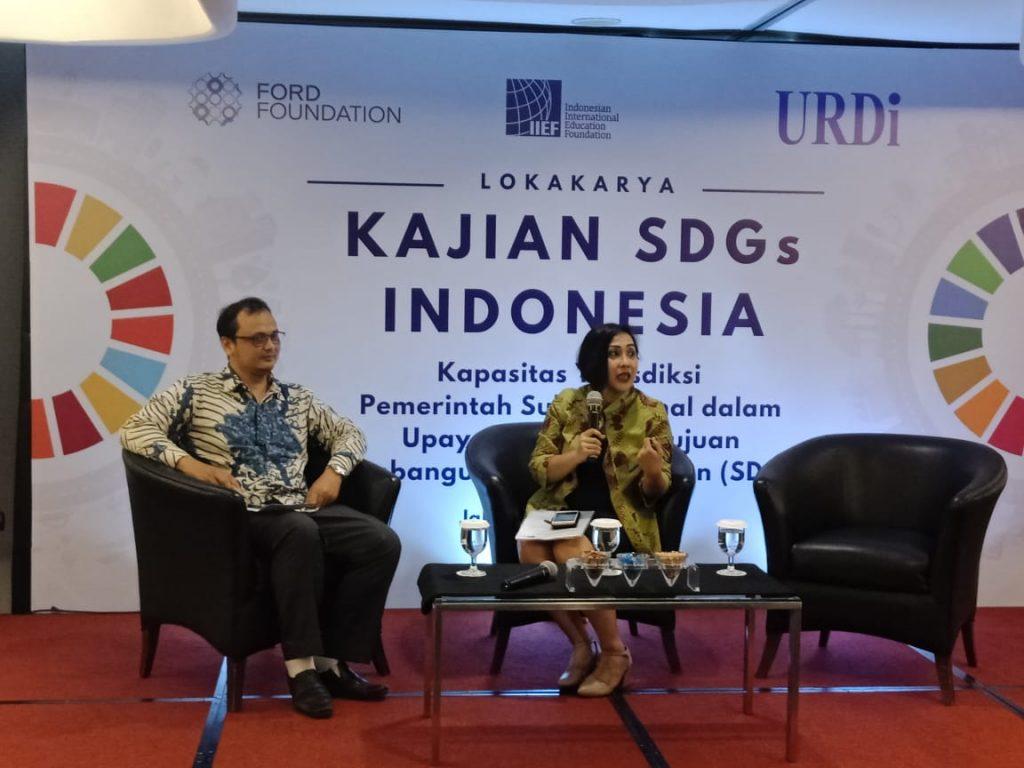 Pembukaan Lokakarya SDGs